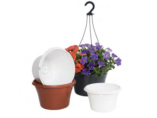 Plastic Hanging Pots & Economy Planters